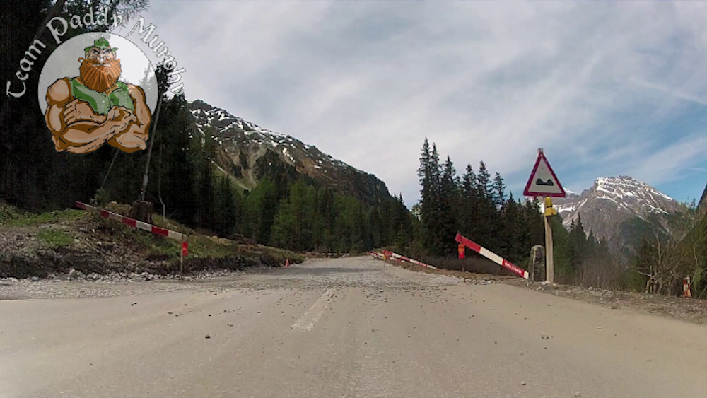 Road work on Albula Pass