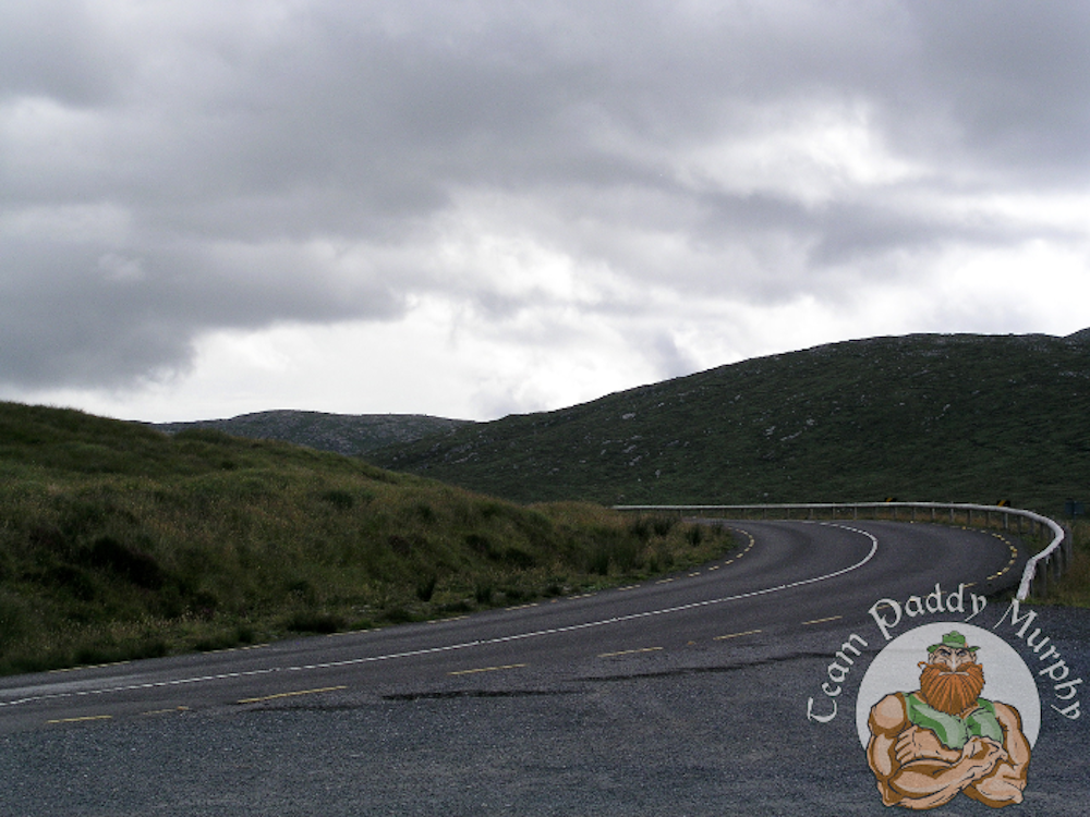 Road in County Donegal